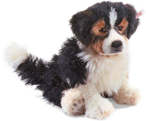 Retired Steiff Bears - MASTERPIECE AUSTRALIAN SHEPHERD PUPPY