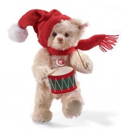 Retired Steiff Bears - LITTLE DRUMMER BOY MUSICAL 30CM