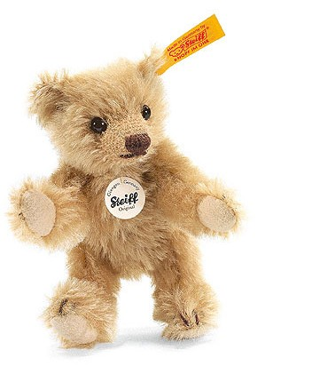 Retired Steiff Bears - MINI TEDDY BEAR BLOND 10CM