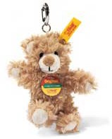 Retired Steiff Bears - KEYRING TEDDY BEAR BLOND 11CM