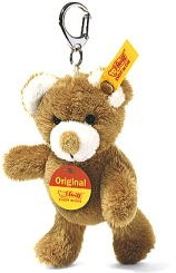 Retired Steiff Bears - KEYRING TEDDY BEAR GOLDEN BLOND 10CM