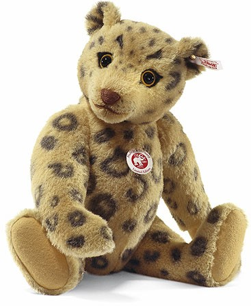 Retired Steiff Bears - ALPACA CLASSIC TEDDY BEAR LEOPARD 40CM