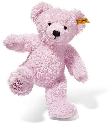 Retired Steiff Bears - TEDDY MY FIRST STEIFF PINK 25CM