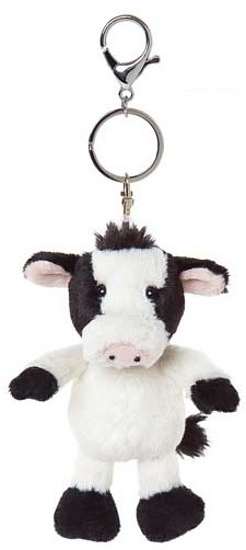 All Creatures Animal Keyrings - CAMILLA COW KEYRING 15CM