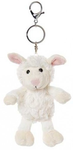 Retired Bears and Animals - TILLY SHEEP KEYRING 15CM