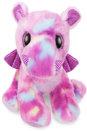 Retired Aurora - SPARKLE TAILS AMETHI PURPLE DRAGON 7""