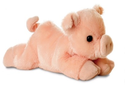 Retired Bears and Animals - PERCY PIG 8""