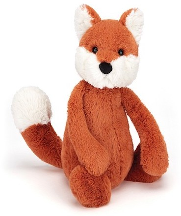 Jellycat Woodland Animals - BASHFUL FOX 18CM