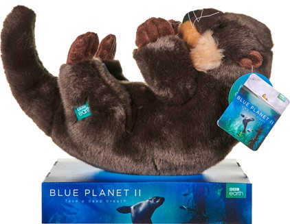 Retired Bears and Animals - BLUE PLANET SEA OTTER 10""