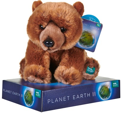 BBC Planet Earth - PLANET EARTH GRIZZLY BEAR 10""