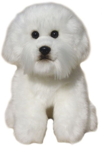Retired Faithful Friends - BICHON FRISE SOFT TOY DOG 30.5CM