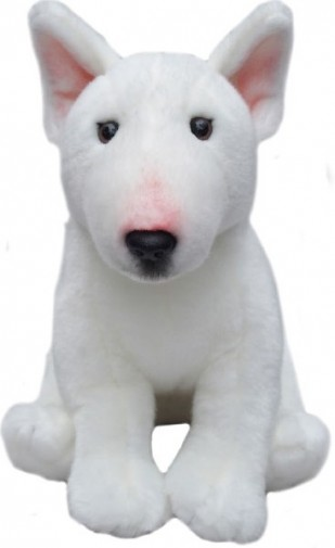 Dog Breeds - ENGLISH BULL TERRIER SOFT TOY DOG 30.5CM