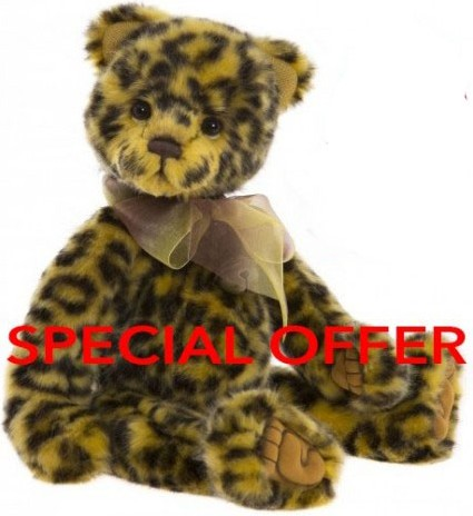 Charlie Bears In Stock Now - CHUTNEY **SPECIAL OFFER**