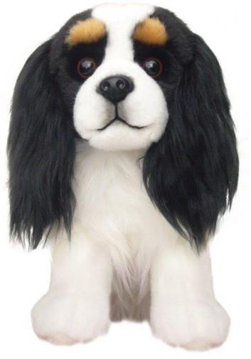 Corfe Bears Faithful Friends Cavalier Tri Colour Soft Toy Dog 30 5cm