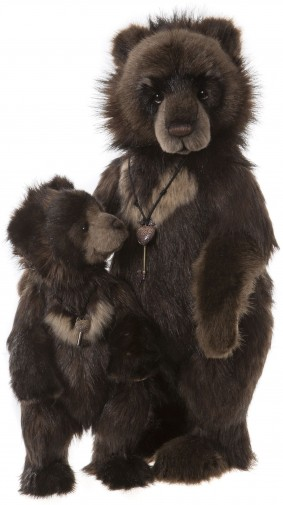 Retired Charlie Bears - BIG RON & LITTLE RON