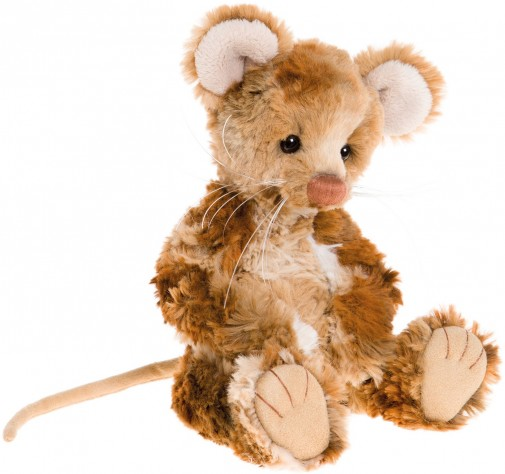Retired Charlie Bears - DICKORY MOUSE 8ֲ½""