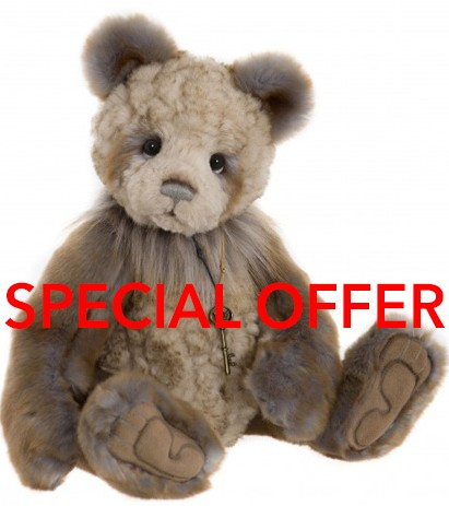 Charlie Bears In Stock Now - ELMER **SPECIAL OFFER**