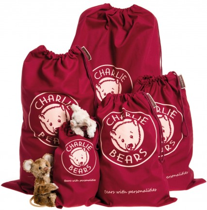 Charlie Bears In Stock Now - DRAWSTRING GIFT BAG XXL