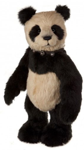 Charlie Bears India Panda Plush Giant Panda Toy