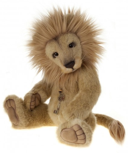 Charlie Bears Linus Lion Collectable Plus Lion Toy
