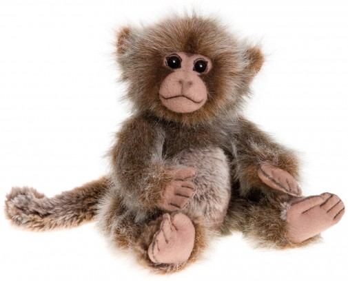 Charlie Bears In Stock Now - PIMKY MONKEY 10ֲ½""