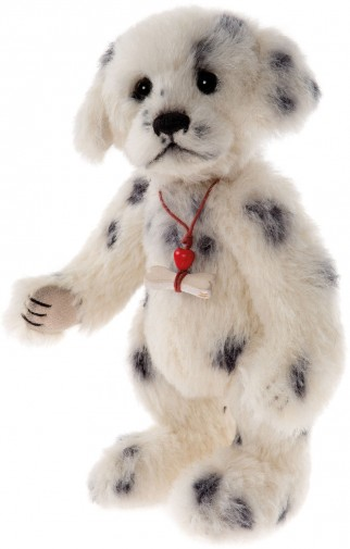 Minimo Collection  -  In Stock Now - MINIMO POLKA DOT DALMATIAN 8""