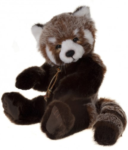Charlie Bears Roxie Red Panda 2014 Collection