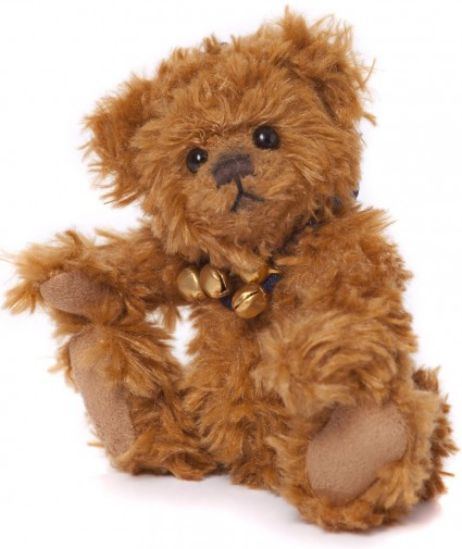 Retired Charlie Bears - FINN KEYRING 13CM