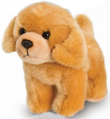 Retired Bears and Animals - GOLDEN LABRADOR WITH BARK 12CM