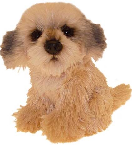 Dog Breeds - SHIH-TZU SOFT TOY DOG 17CM