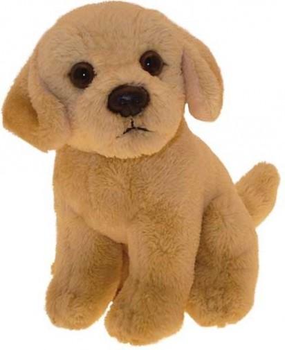 "Labrador Chocolate Brown Faithful Friends Soft Toy Dog 12/"""