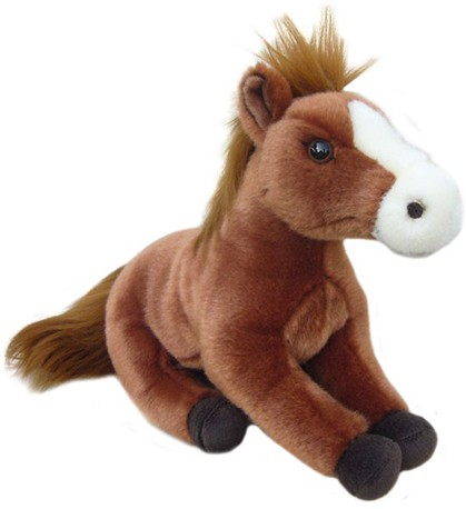 Retired Faithful Friends - CHESTNUT HORSE SOFT TOY 30.5CM
