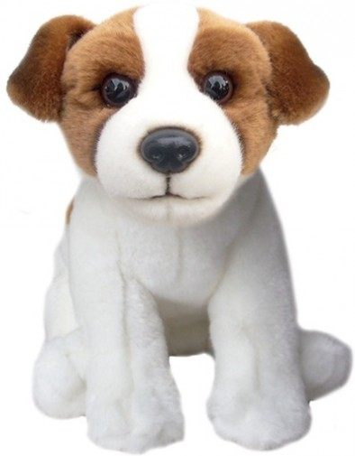Dog Breeds - JACK RUSSELL SOFT TOY DOG 30.5CM