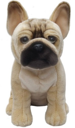 Dog Breeds - FRENCH BULLDOG SOFT TOY DOG 30CM