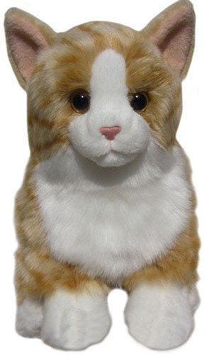 Retired Faithful Friends - GINGER SOFT TOY CAT 30.5CM