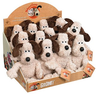 Retired Bears and Animals - GROMIT BEANIE TOY 15CM