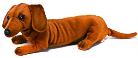 Sausage Dog Stuffed Toy
