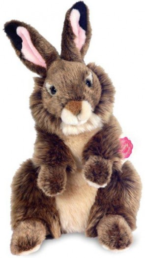 Retired Bears and Animals - RABBIT UPRIGHT BROWN 28CM