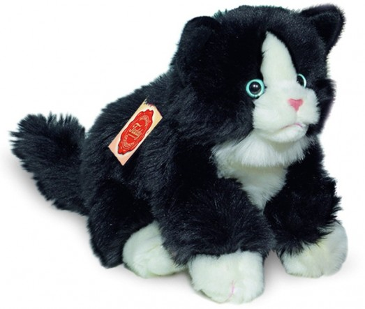 Cat Toy Hermann Teddy Black And White Cat