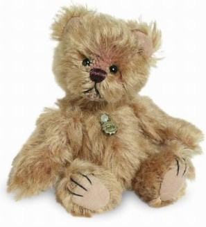 Retired Bears and Animals - GOLDIE MINIATURE BEAR 10CM