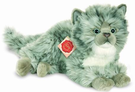 Retired Bears and Animals - CAT GREY 35CM