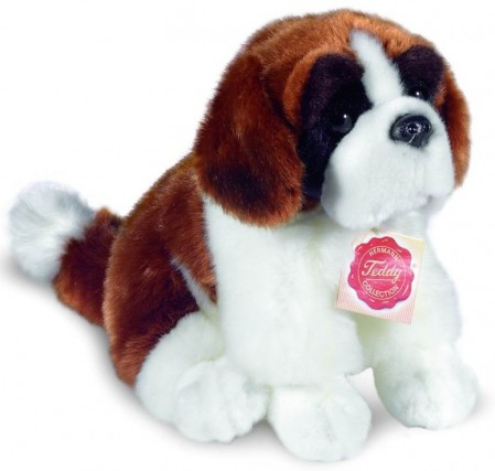 Retired Hermann Teddy - ST BERNARD DOG 29CM