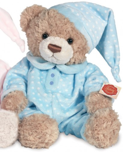 Retired Hermann Teddy - PYJAMA BEAR BLUE 38CM