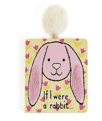 Jellycat Books - BOOK - IF I WERE A RABBIT - PINK