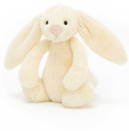 Bashful and Blossom Bunnies - BASHFUL BUNNY BUTTERMILK 18CM