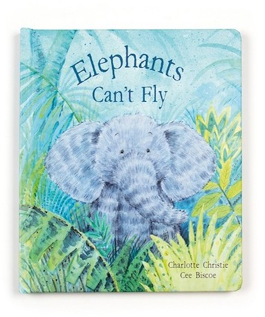 Jellycat Books - BOOK - ELEPHANTS CAN'T FLY