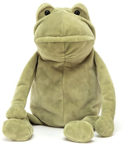 Jellycat Woodland Animals - FERGUS FROG 20CM