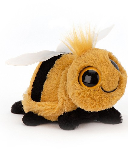 Retired Jellycat - FRIZZLES BEE 14CM