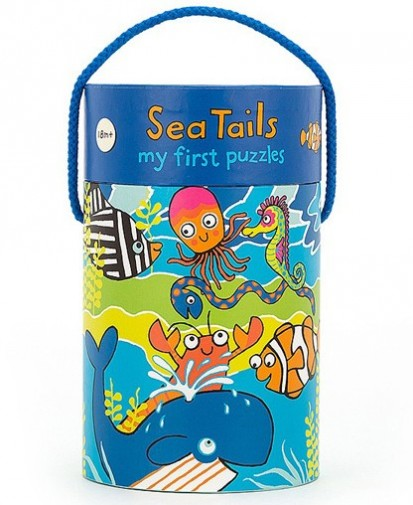 Jellycat Baby - SEA TAILS PUZZLE