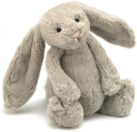 Bashful and Blossom Bunnies - BASHFUL BUNNY BEIGE 31CM